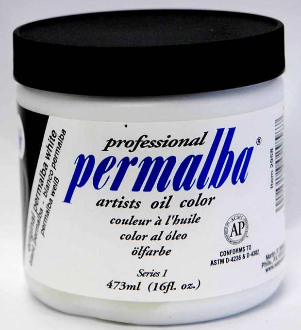 Original Permalba White Jar: 473 ml