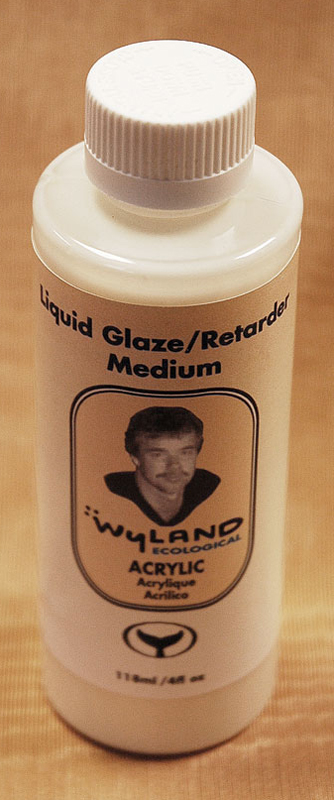 Wyland Ecolgical Liquid Glazing Medium: 118ml