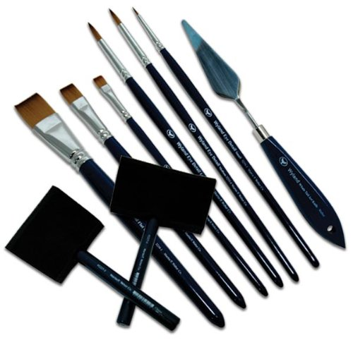 Wyland Flat Brush: Large