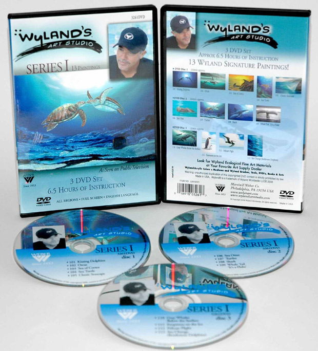 Wyland Art Studio DVD: 13 Episodes, Series 1 (6.5 Hour)