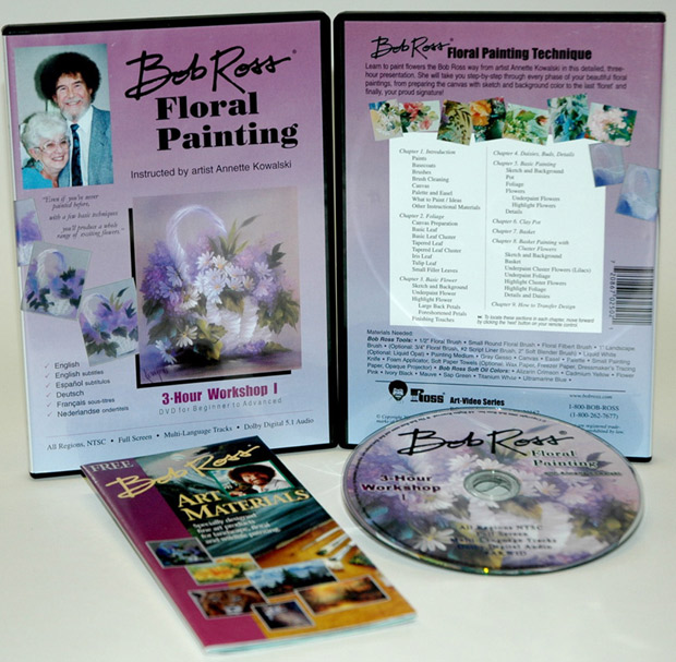 Ross DVD Floral Painting Workshop I: 3 Hour