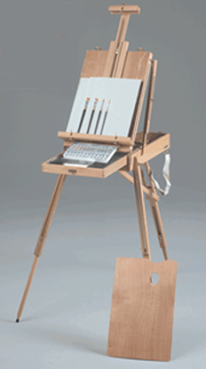 Rivera Sketch Box Easel Acrylic Oil Painting Kit: Model # 63-AB30331