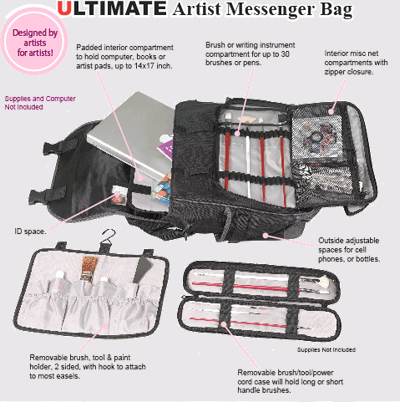 Just Stow It, Ultimate Messenger Bag
