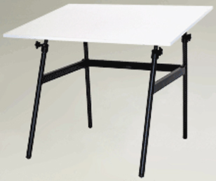 Berkeley Classic Black Base 30 inch x 42 inch Top