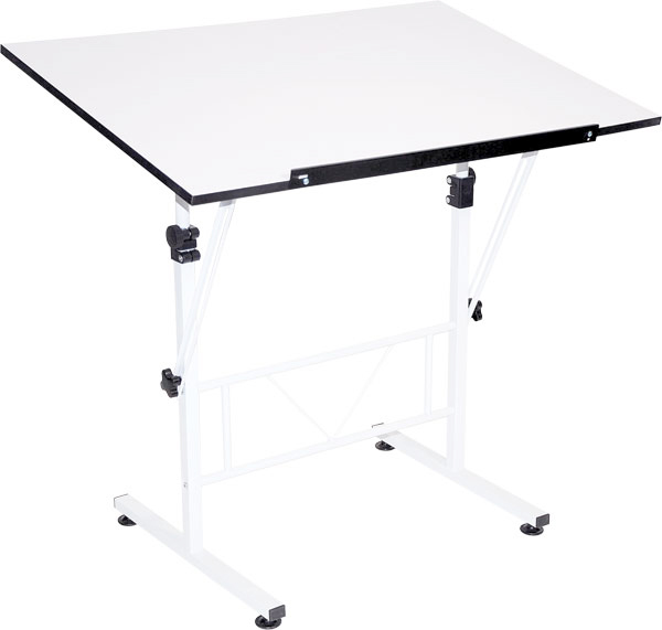 Smart Drafting/Hobby Table with 24 Inches x 36 Inches Top: Model # U-DS40W