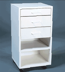Mobile Cabinet I - Assembled: Model # U-TA13WS