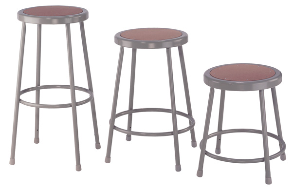 "National Public Seating Corp 30"" Basic Stool"