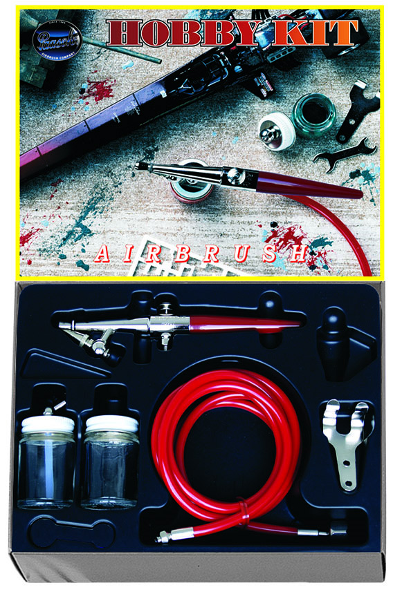 Paasche Airbrush Paasche Model 2000H Single Action Airbrush Hobby Kit
