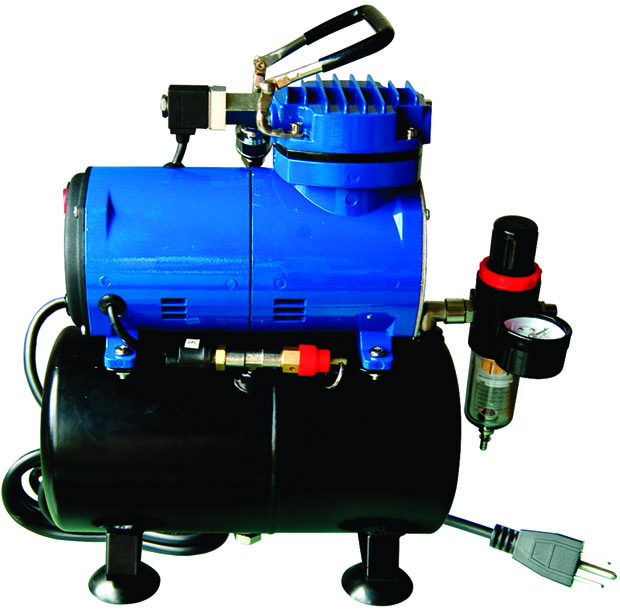 Paasche D3000R Air Compressor: 1/8 H.P.