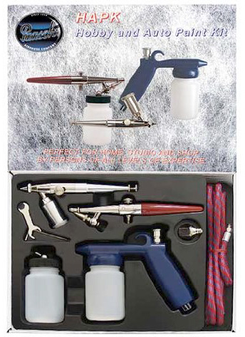 Paasche Hobby and Auto Paint Kit