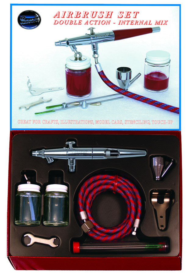 Paasche Model VL Airbrush with Metal Handle-Set