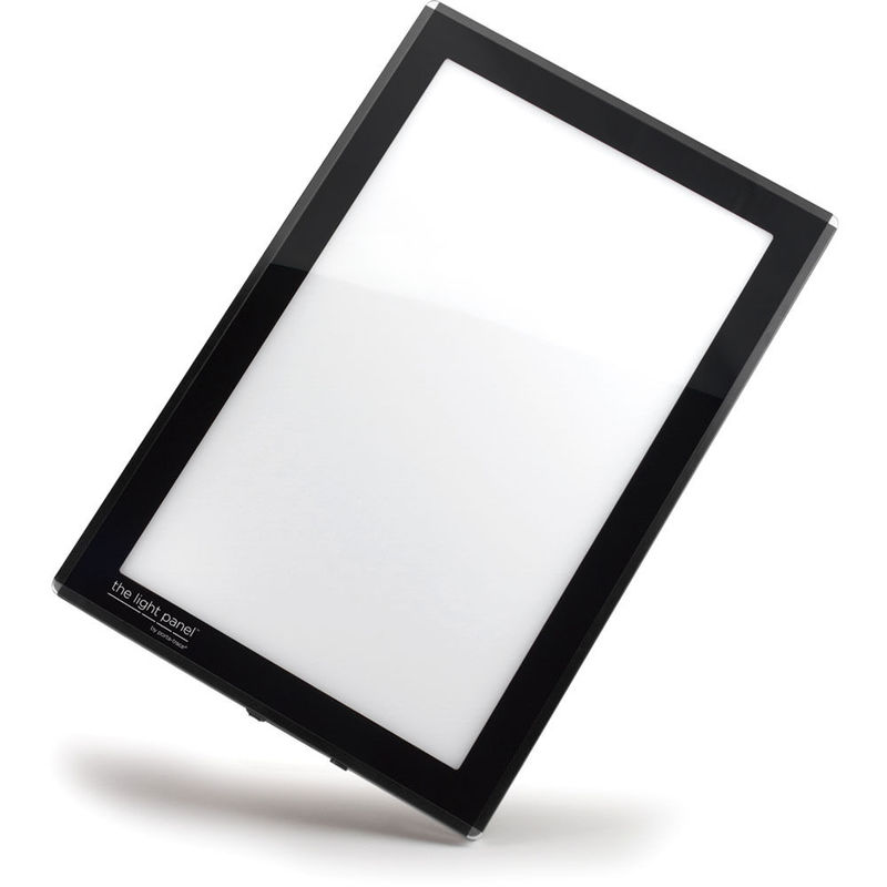 "Gagne Porta-Trace LED Light Panel: 8"" x 11"", Black"