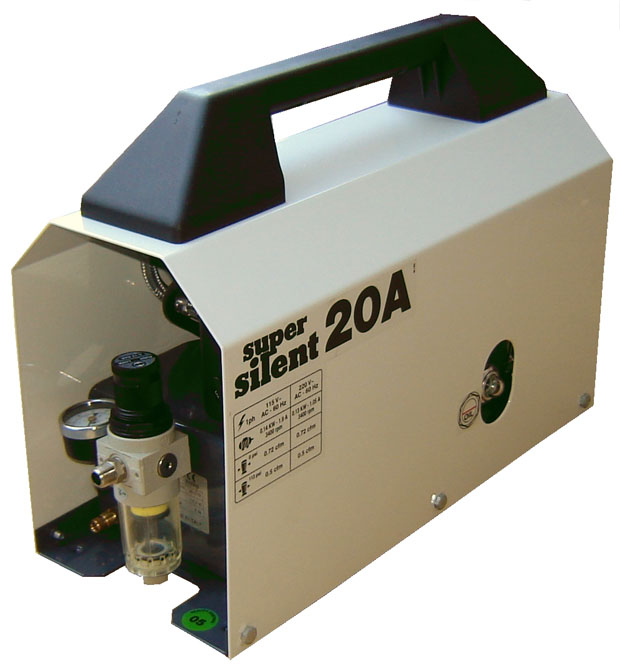 Silentaire Super Silent 20-A Whisper Quit Airbrush Compressor
