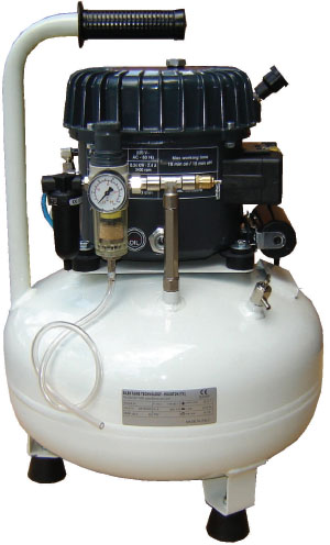 Silentaire Val-Air 50-24 AL Silent Running Airbrush Compressor: Oil Lubricated, Portable Air Compressor