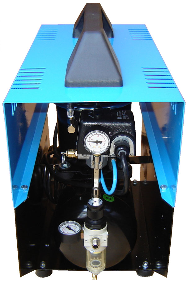 Silentaire Super Silent DR-500 Silent Running Airbrush Compressor, Portable Air Compressor