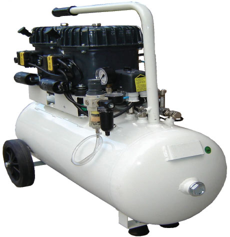 Silentaire Val-Air 100-50 AL Silent Running Airbrush Compressor: Oil Lubricated