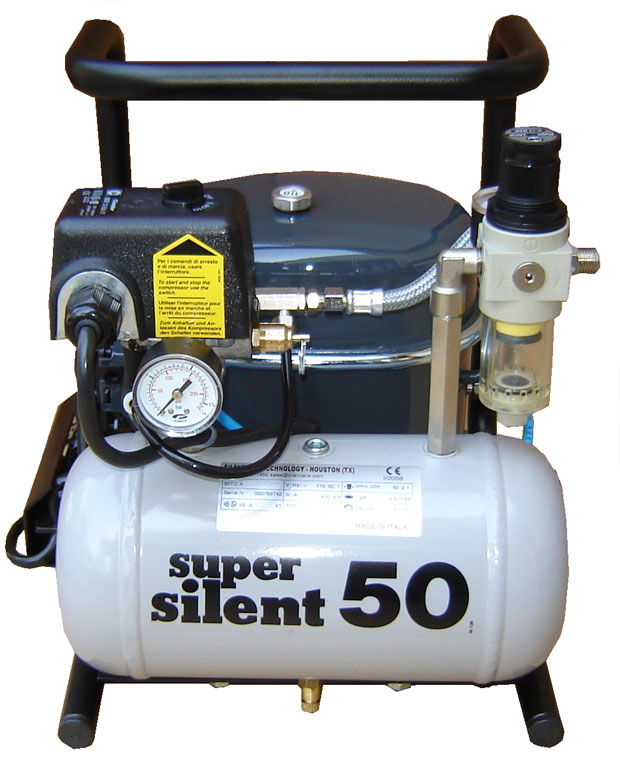 Silentaire Super Silent 50-TC Compressor for airbrushing