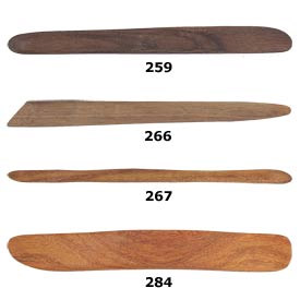 Sculpture House Custom Hardwood Tools-Set of 4 Tools