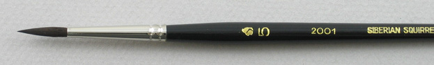 Trinity Brush Siberian Blue Squirrel 2001: Round Size 5 Brush