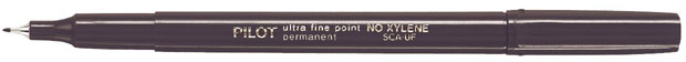 Pilot® Extra Fine Point Permanent Marker: Black