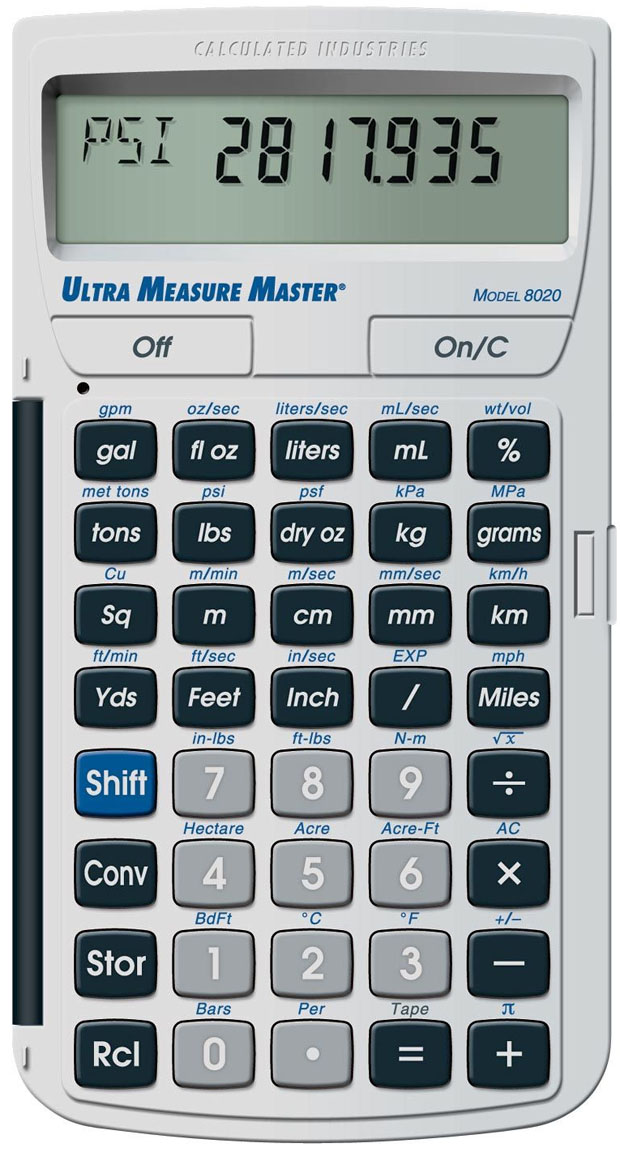 "Ultra Measure Masterâ""¢: 8025"