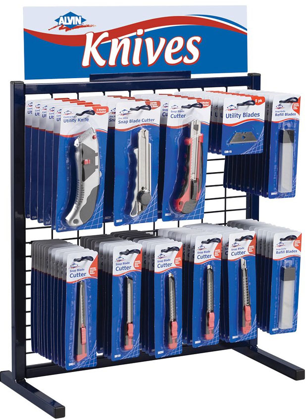 Alvin® Knife Assortment II: Display