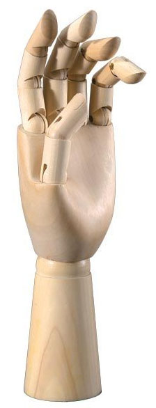 "Heritageâ""¢ Male Hand Mannequin: 12 Male Left"