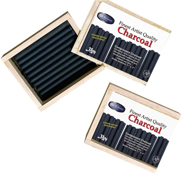 Yarka® Compressed Charcoal Set