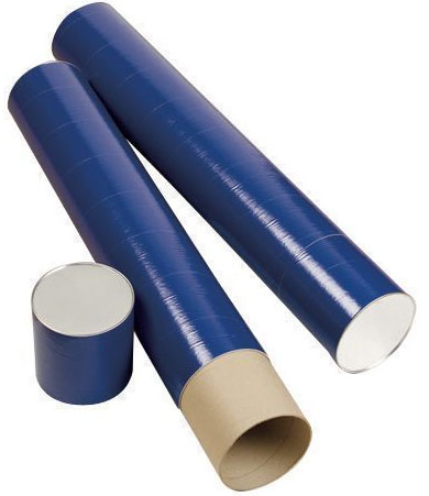 Alvin T420-37 Fiberboard Tube: Blue, Telescope 37 in Length X 6 Inches Inside Diameter
