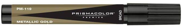 Prisma Color Marker: Metallic Gold Broad