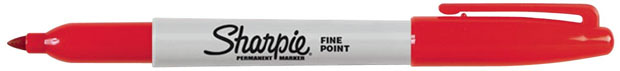 Sanford® Sharpie® Fine Point: Red