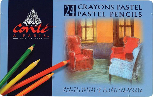 Elmer's® Conté Pastel Pencil: Set Of 24