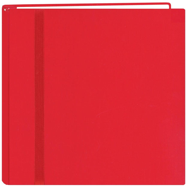 "Pioneer Snap Load 12"" x 12"" Scrapbook: Red"