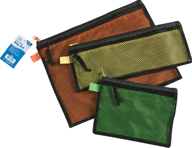 Alvin Everything Bag: Set of 3