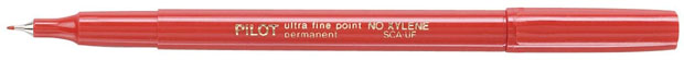 Pilot® Extra Fine Point Permanent Marker: Red