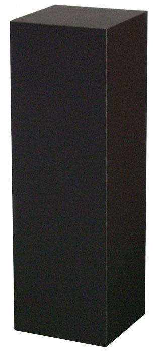 Xylem Black Laminate Pedestal: 18 X 18 inches, 24 inches Height