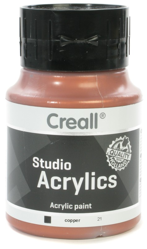 Creall Studio Acrylics: 500 ml, 21 Copper
