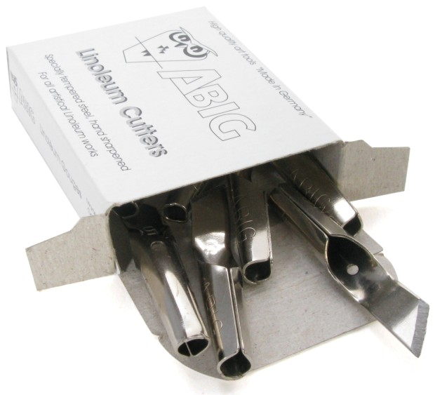 ABIG Blade for Clean Edge Cutting: 6 mm Hardened Steel