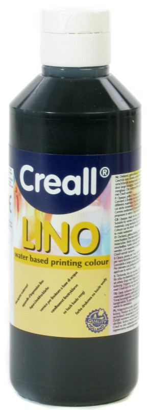 Creall-Lino: 250 ml, 09 Black