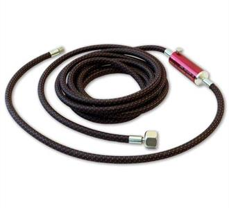 A-1/8-6MT  6' Air Hose With MT Moisture Trap