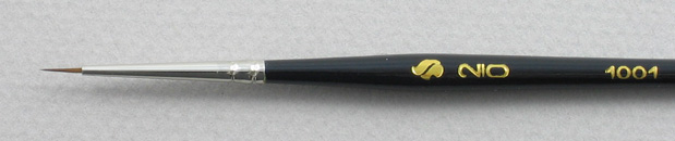 Trinity Brush Kolinsky Sable Short Handle Round Brush # 2/0 (Made in Russia)