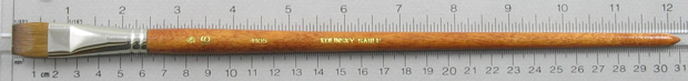 Trinity Brush Kolinsky Sable Long Handle Bright Brush # 16 (Made in Russia)