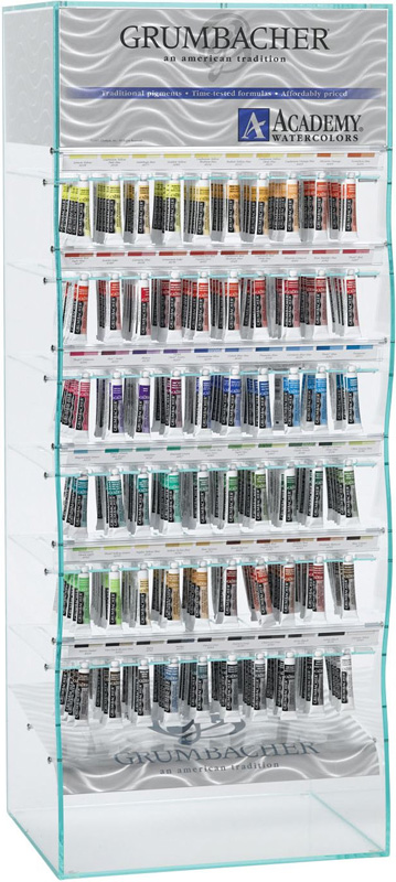 Grumbacher Academy® Watercolor Paint Display