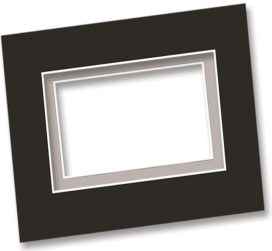 Alvin Mat And Drawing Illus Board: Smooth Surface, 30 x 40 Inches, Black/White, Box of 25