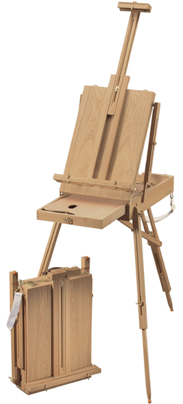 "Alvin Heritageâ""¢ Basic French Elmwood Easel"