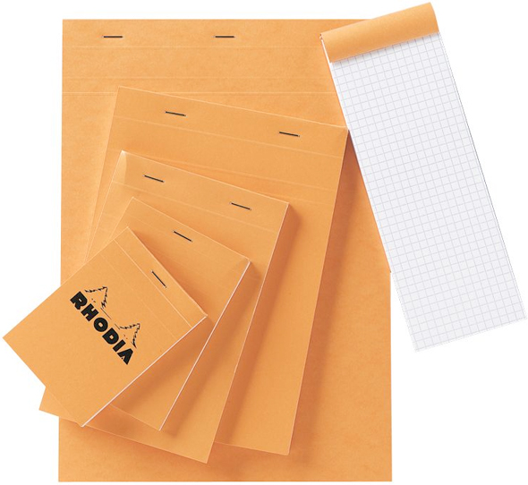 Alvin Rhodia Graphic Sketch/Memo Pad 8.5 x 12inches