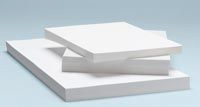"Alvin® Heavyweight Opaque Plotter Bond 50-Sheet Pack 24 x 36: White/Ivory, Sheet, 50 Sheets, 24"" x 36"""