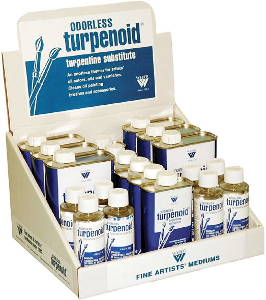 Weber Odorless Turpenoid® Display
