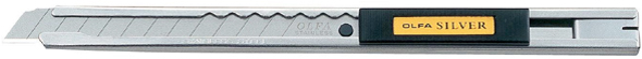 Olfa Silver Deluxe Utility Knife