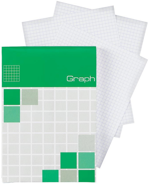 Alvin Saray Graph Note Pad 2.9 x 8.3inches 80 Sheets